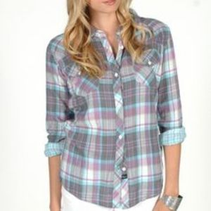 Rails Tops - Rails Purple Kendra Plaid**Celebrity Favorite!